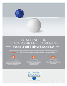 Leadership Assessment and Development Coaches Part 2