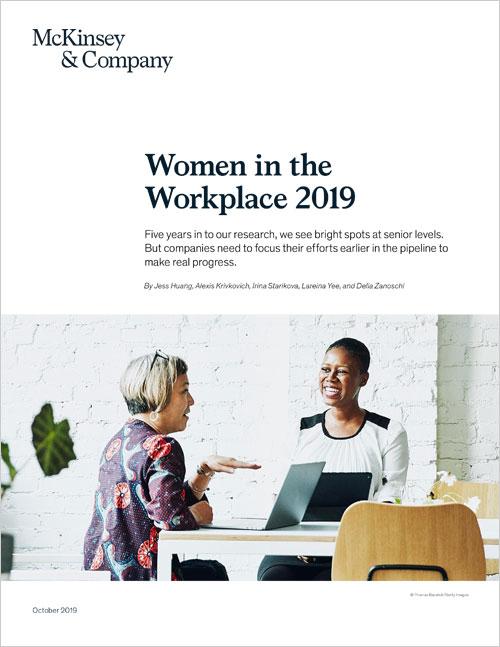Women in Workplace 2018