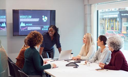 women leading - online learning programs