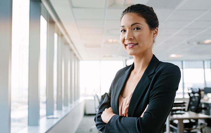 Women in Leadership photo for statistics