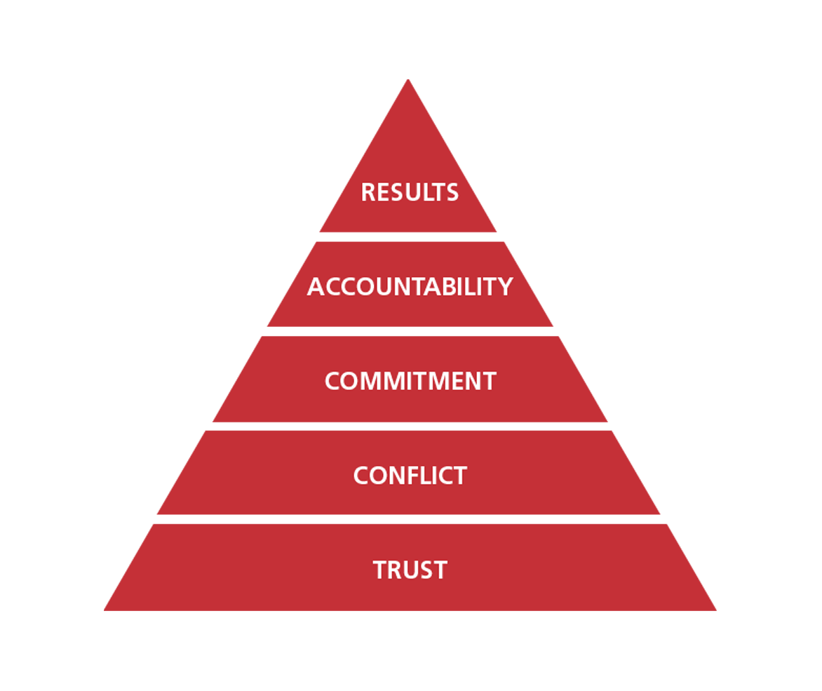 WTW Team approach pyramid - Wiley grouping